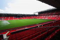 Old trafford stadium july on july is a football in greater manchester england and the home of Stock Photos