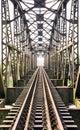 Old train bridge Royalty Free Stock Photo