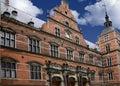Old Train Station Helsingor Denmark Royalty Free Stock Photo