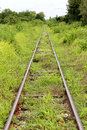 Old train tracks Royalty Free Stock Photo