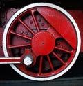 Old Train Wheel Royalty Free Stock Photo