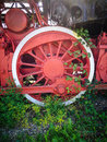 Old Train Wheel Royalty Free Stock Photo