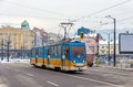 Old tram in Sofia Royalty Free Stock Photo