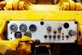 Old truck dashboard gauges
