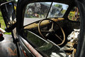 Old Truck Interior Royalty Free Stock Photo