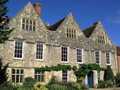 Old Tudor mansion Royalty Free Stock Images