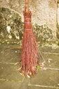 Old Type Straw Broom