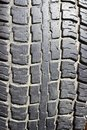 The old tyre tread Stock Photo