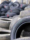 Old tyres Royalty Free Stock Images
