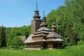 Old Ukrainian church Stock Image