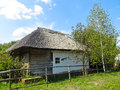 Old ukrainian traditional  house Royalty Free Stock Photo