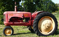 Old Unrestored Massey-Harris Tractor Royalty Free Stock Photography
