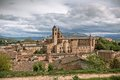 Old Urbino, Italy, Cityscape at Dull Day Royalty Free Stock Photo