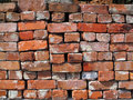 A Old Used Bricks Royalty Free Stock Photo