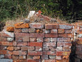 A Old Used Bricks Royalty Free Stock Photo