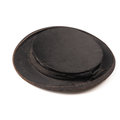 Old used chapeau claque Royalty Free Stock Photo