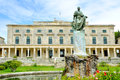 Old venetian palace corfu greece Royalty Free Stock Photo