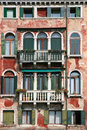 old venice facade Royalty Free Stock Photo