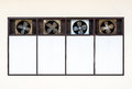 Old ventilation fan Royalty Free Stock Photo
