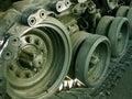 Old Viet Nam tank Royalty Free Stock Photo