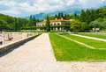 The old villa Royalty Free Stock Photo