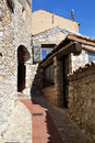 The Old Village of Eze Stock Image