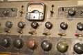 Old Vintage Antique Electronic Control Board Royalty Free Stock Photo