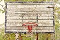 Old vintage basketball hoop Royalty Free Stock Photo
