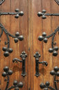 Old vintage door handle Royalty Free Stock Images