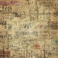 Old vintage grunge newspaper texture background Royalty Free Stock Photo