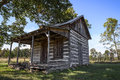 Old vintage log cabin Royalty Free Stock Photo