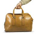 Old vintage luggage bag Royalty Free Stock Photo