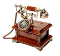 Old vintage phone Stock Images