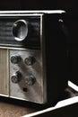 Old vintage radio Royalty Free Stock Photo