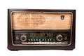 Old vintage radio Royalty Free Stock Photo