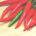 Old vintage retro style chili with filter effect Stock Photography