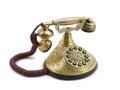 Old vintage telephone Stock Photos