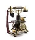 Old vintage telephone Royalty Free Stock Image