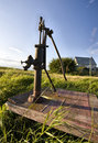 Old Vintage Water Pump Stock Photography