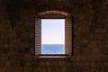 Old Vintage Window Open Shutte...