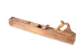 Old vintage wooden rabbet plane Royalty Free Stock Image