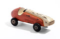Old vintage wooden racing car Royalty Free Stock Photo