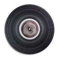 Old vinyl record isolated Royalty Free Stock Photo