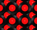 Old vinyl records collection Royalty Free Stock Photo