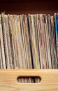 Old vinyls Royalty Free Stock Photo