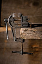 Old vise Royalty Free Stock Images