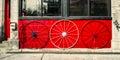 Old Wagon Wheels Royalty Free Stock Photo
