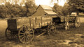 Old wagons an image of Royalty Free Stock Image