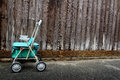 Old walker cart Royalty Free Stock Photo