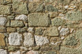 Old wall from alupka vorontsov palace natural background Stock Photography